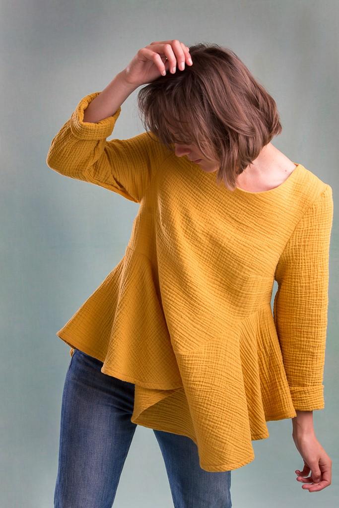 La blouse Janis