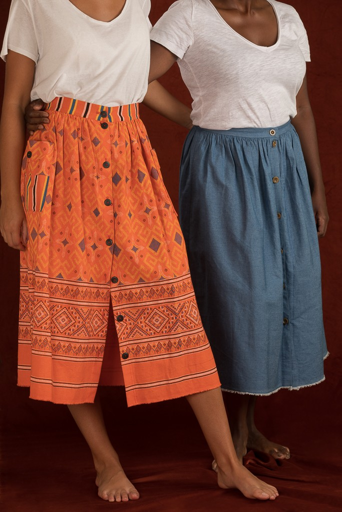 Justine skirt (free pattern)