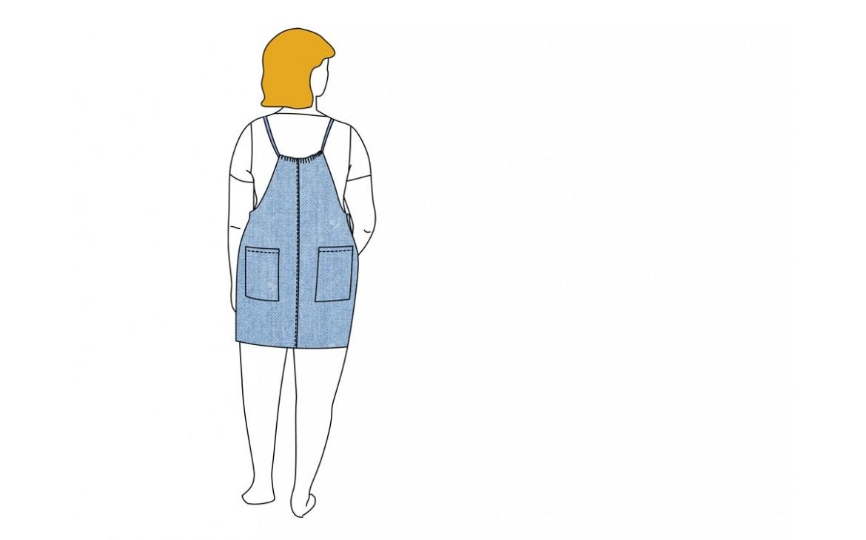 Patsy, la robe-salopette